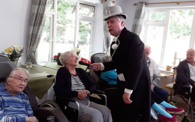 Musicals and time in the garden at Abbotsleigh Care Home