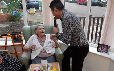 A musical time at Abbotsleigh Care Home