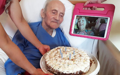 Mothers Day and birthday celebrations at Abbotsleigh Care Home