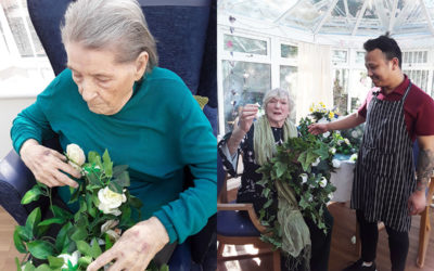 A busy week of activities at Abbotsleigh Care Home