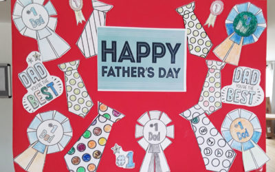 Fathers Day posters and pancake delights at Abbotsleigh Care Home