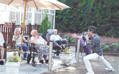 Music and merriment at Abbotsleigh Care Home