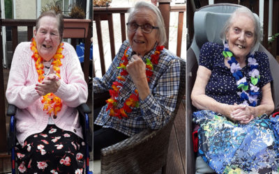 Music and fun at Abbotsleigh Care Home