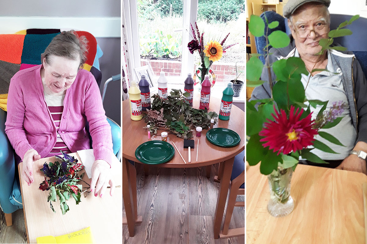 Being inspired by nature at Abbotsleigh Care Home