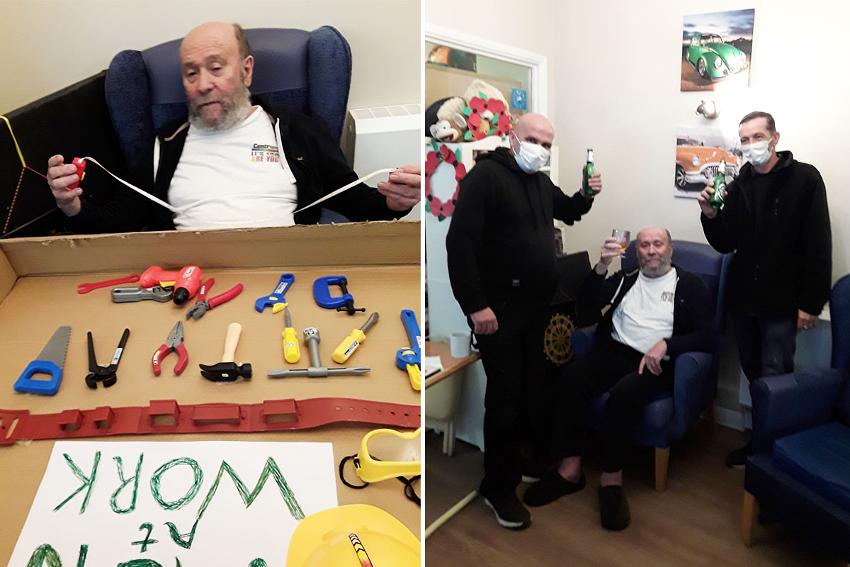 Chocolate popsicles and International Mens Day at Abbotsleigh Care Home