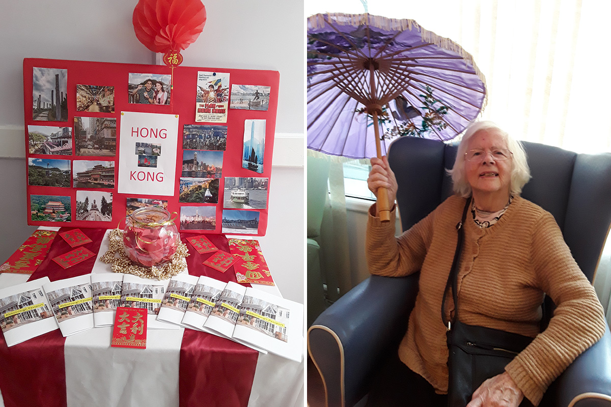 Abbotsleigh Care Home residents enjoy Chinese New Year in Hong Kong
