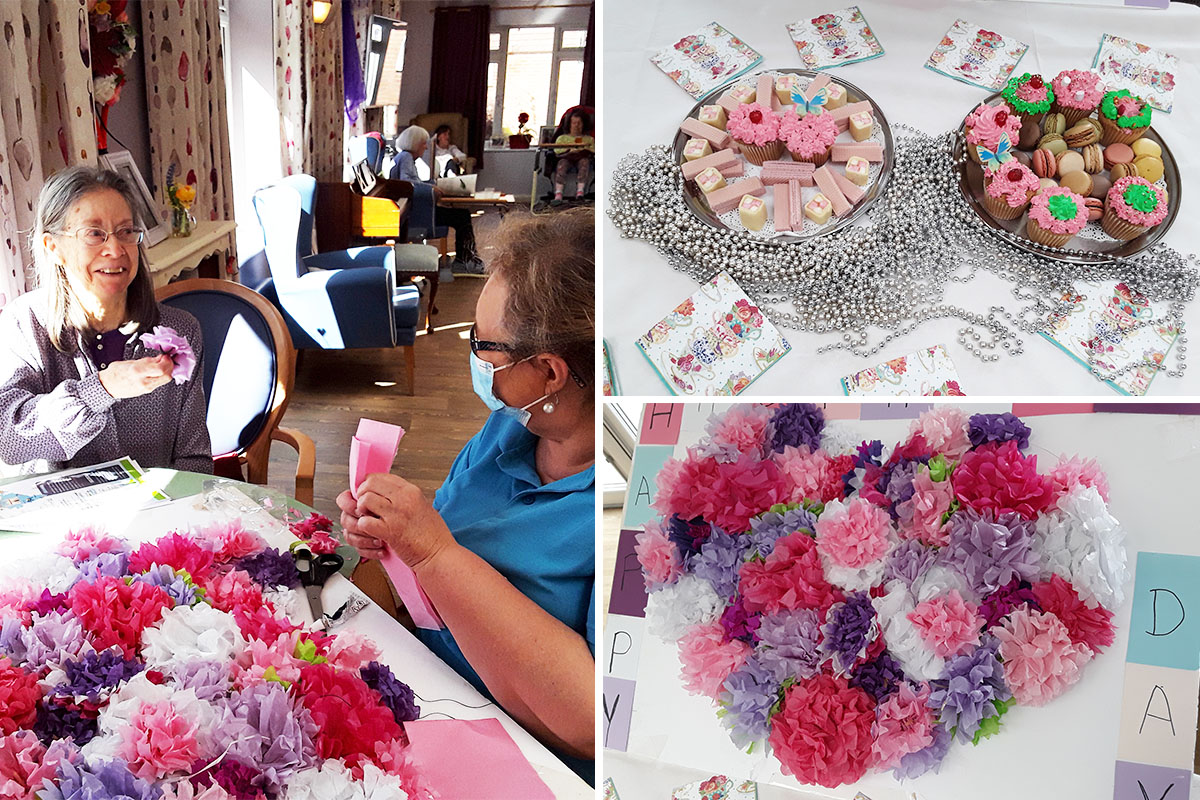 Celebrating Mothers Day at Abbotsleigh Care Home