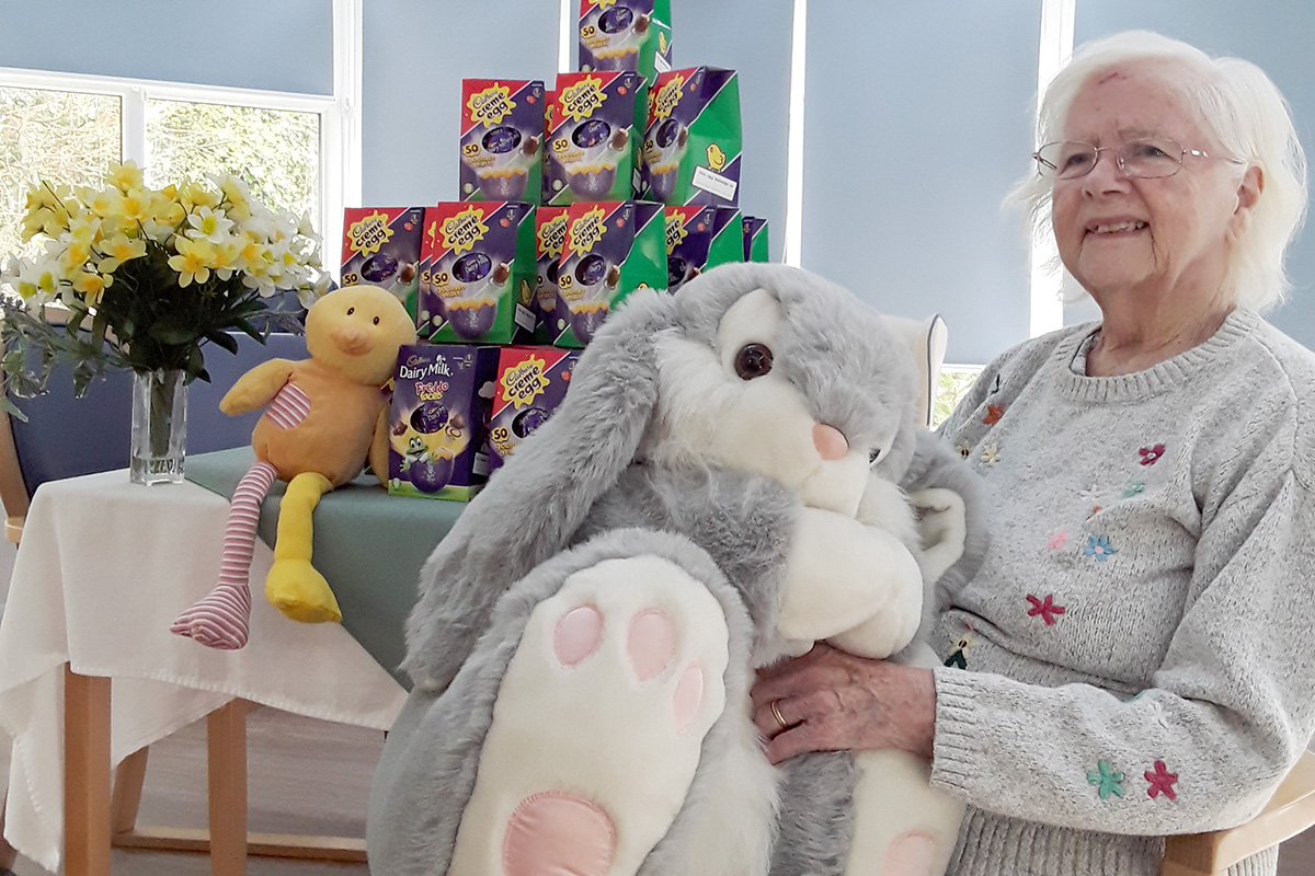 Easter fun at Abbotsleigh Care Home