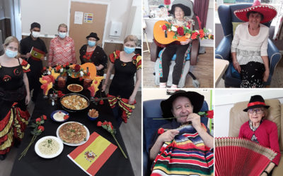 Spanish celebrations at Abbotsleigh Care Home