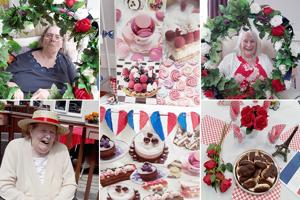 Abbotsleigh Care Home residents enjoy their French Day